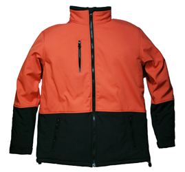 #HV35J Hi-Vis Orange Softshell Freezer Jacket