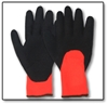 #726-729 3/4 Dipped Blk Rubber Thermal Gloves (Pair) 726, 727, 728, 729