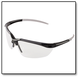 #SG08 Pearl Grey Frame Safety Glasses